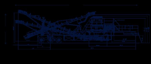 elrus aggregate systems CH660 Cone Plant General Arrangement
