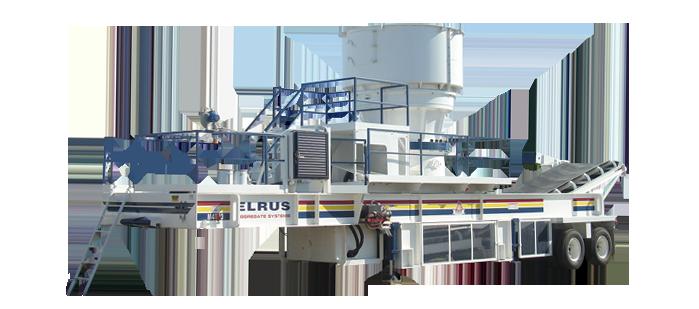 ELRUS Aggregate Systems CS660 Gyrocone Crushing Plant