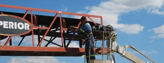 elrus superior conveyor maintenance belt training