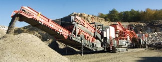 sandvik mobile crushing and screening