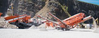Sandvik Mobile Track Crushing