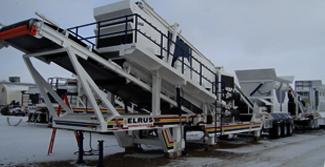 winter maintenance crushing screening equipment
