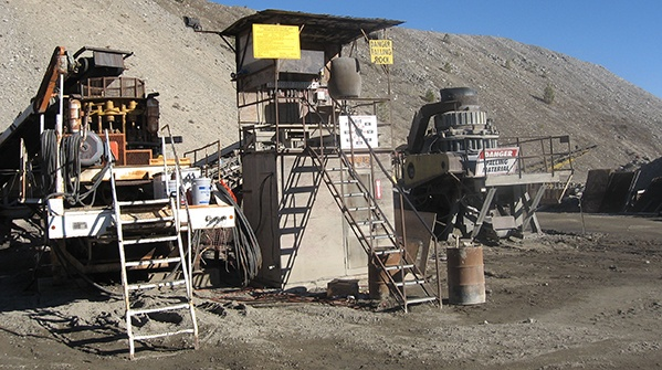 Crusher Control Operating Station