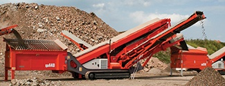 Sandvik QA440 Track Mounted Screen