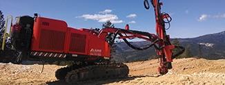 Sandvik Top Hammer Surface Drill