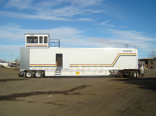 ELRUS Control Trailer with rear mounted tower