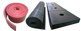 rubber and urethane wear liner protection