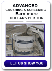 Earn more dollars per ton with ELRUS equipment.