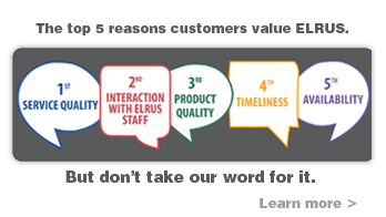 Callout boxes that show the 5 reasons customers choose ELRUS